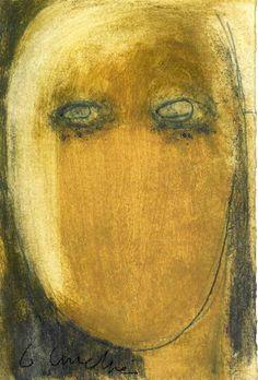 gilles ANDRE peintre,peinture - portaits, expressionisme, expressionnism, belgian painter