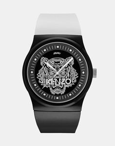 Kenzo Watch With Tiger Head