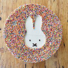 Sprinkle Miffy Cake