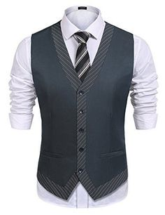 COOFANDY Males's Enterprise Swimsuit Vest Commencement Celebration Informal Slim Match Skinny Dr..., #men'ssuitstyle #men'ssuitvest #menssuitjacket #menssuits