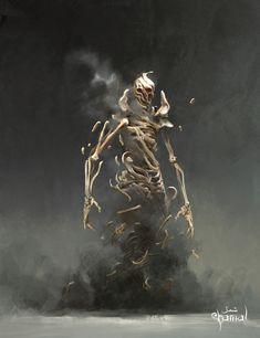 Monster Concept Art, Fantasy Monster, Monster Art, Dark Fantasy Art, High Fantasy, Fantasy Creatures, Mythical Creatures, Fantasy Character Design, Character Art