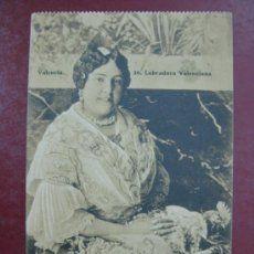 postal, valencia, una labradora, valenciana, fa - Comprar Postales antiguas de la Comunidad Valenciana en todocoleccion - 40875771