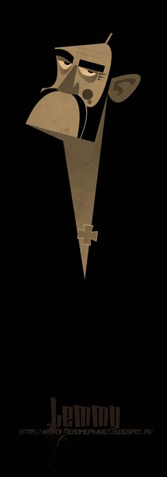 http://art-of-jeromepradet.blogspot.fr @Lemmy @Kilmister @Motorhead @JeromePradet