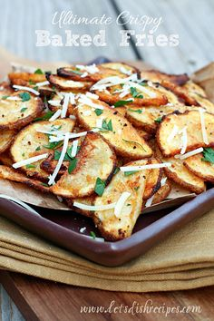 Ultimate Crispy Baked Fries on MyRecipeMagic.com