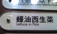 Although sometimes they are remotely understandable, these 25 hilarious confusing Engrish signs will probably leave you chuckling in confusion. Funny Signs, Funny Memes, Funny Stuff, Random Stuff, Translation Fail, Funny Translations, Funny Cute, Hilarious, Humor