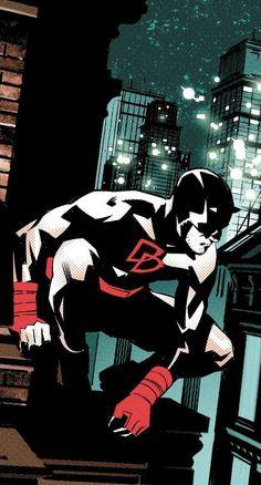 Daredevil by Matteo Buffagni Marvel Comics, Marvel Comic Universe, Marvel Art, Marvel Heroes, Comic Book Characters, Marvel Characters, Comic Character, Comic Books, Comic Collage