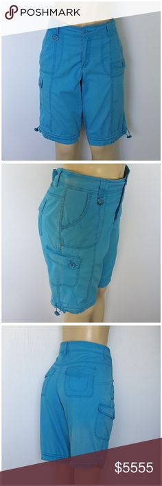 "COMING SOON! ""LIKE"" TO BE NOTIFIED VIA PRICE DROP COMING SOON! ""LIKE"" to be notified via price drop when closet re-opening after moving! Price listed will NOT be the price when closet re-opens. STYLE & CO, Drawstring Hem Cargo Shorts, size 8 Medium, lightweight stretchy material, cloudy shaded faded print, 97% cotton, 3% spandex, button n zipper closure, button n Velcro pockets, D-ring. Measurements will be posted when we re-open! Add to a Bundle! Offer 40% Less via Bundle Offer Button…"