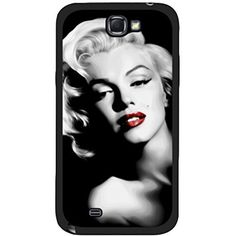 Season.C Black White Marilyn Monroe Hard Back Case Cover for Samsung Galaxy Note 2 N7100 >>> To view further for this item, visit the image link. (This is an affiliate link) #CellPhonesAccessories