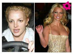 Britney Spears sem maquiagem
