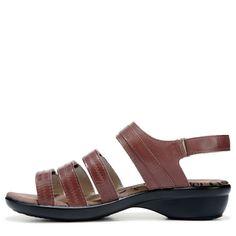 Propet Women's Aurora Narrow/Medium/Wide Sandals (Brown Leather) - 6.5 B