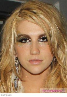 Kesha Super Glittery Eye Makeup !