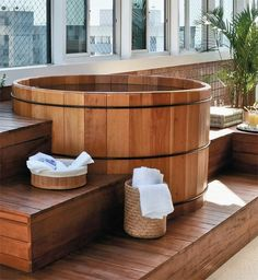 Wood Hot Tub -- Curated by: EcoCircuit Distributors| 1950 Bredin Rd. Kelowna, BC V1Y 4R3  | 250-979-2008