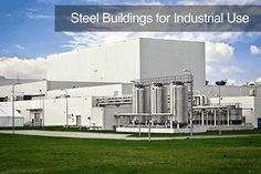 Steel can be used for Industrial buildings including the following building types:  - Prefab Steel Manufacturing Facilities - Custom Built Steel Crane Buildings - Waste Transfer Stations and Recycling Centers - Small Utility Buildings - Bus or Trucking Stations/Terminals - Oil and Gas Operations and Storage Facilities