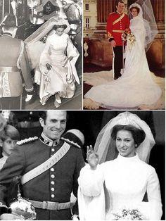 theweddingsecret:  Wedding of Princess Anne to Capt Mark Phillips, 1973