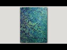 getlinkyoutube.com-DIY Abstract Art Print   Acrylic Paint and Rubbing Alcohol Technique