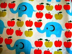 Ellies and apples
