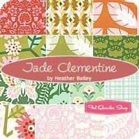 Jade Clementine Fat Quarter Bundle<BR>Heather Bailey for Free Spirit Fabrics