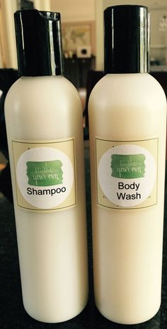 Easy home made shampoo and body wash