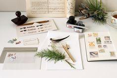 at HOME – dressense stationery,letter,desk,stamp,calligraphy,letteropnener,mucu,reuchtturm,caweco,envelope