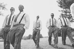 sweet groomsmen shot