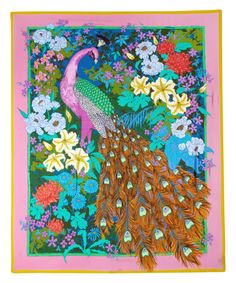 Liberty Multicolour Hera's Garden Print Silk Scarf | Scarves by Liberty | Liberty.co.uk