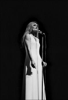 Dalida à l'Olympia en 1974