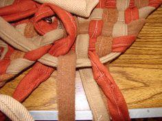 rug braiding by Martin LaBar, via Flickr.  ------------  LOVE -TD