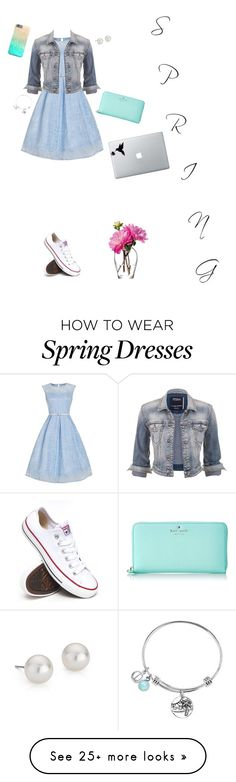 """""""Knock Knock. Who's there? Spring. Spring who? Another few months till spring. Have a nice rest of winter!"""" by tinyblueowls on Polyvore featuring moda, Converse, maurices, Blue Nile, Kate Spade, LSA International, women's clothing, women's fashion, women y female"""