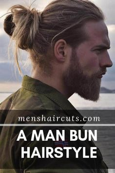 Men who want to keep up with the latest fashion should get to know the man bun hairstyle. See how to get, style, and wear it today to look unique. Bun Hairstyles For Long Hair, Short Hair Updo, Hairstyle Ideas, Men's Hairstyles, Pretty Hairstyles, Hair Ideas, Popular Haircuts, Haircuts For Men, Haircut Men