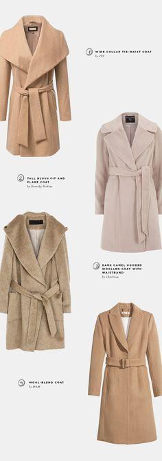 affordable winter coats, chic nova, h&m, uniqlo, tweed, parka, camel, modcloth, bold colored coats, winter coat trends 2014, outerwear trends, JVL, duffle coats, long coats, hooded parka trends 2014, joe fresh, zara, printed coats, mango, wrap coats, dorothy perkins, blush coats, beige coats, wool-blend coats