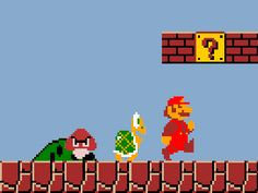 Super Mario from Nintendo via Animhut. Links to 20+ Animated Gif Images for Pinterest Pinners [Working]