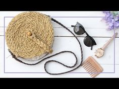 DIY Straw Bag for less than $2 (₹150) - YouTube