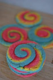 Food. Fun. Life.: Rainbow Swirl Cookies