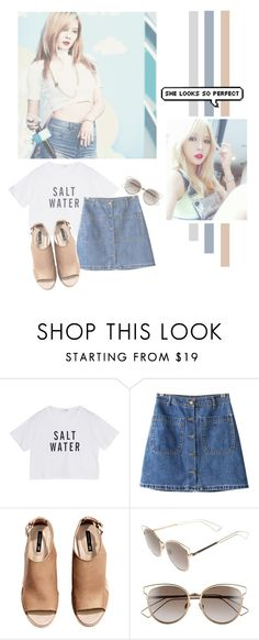 """""""Kim Hyun Ah"""" by lazy-alien ❤ liked on Polyvore featuring Chicnova Fashion, H&M, Christian Dior, hyuna, 4minute and kimhyunah"""