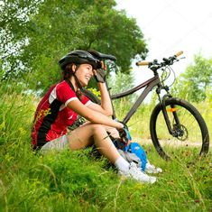 It's a high time for cycling   #mountainbike, #womenbike, #bicycle, #Lady