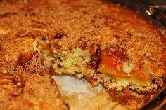 Peach Pecan Cake http://www.momspantrykitchen.com/peach-pecan-cake.html