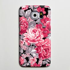 Floral Red Roses Flowers Galaxy s6 Edge Plus Case Galaxy s6 s5 Case Samsung Galaxy Note 5 4 3 Phone Case s6-018
