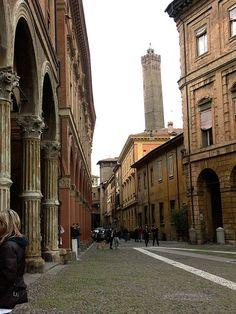 Piazza Santo Stefano, Bologna, Emilia-Romagna, Italy