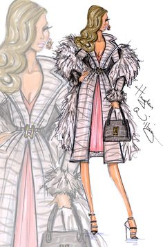 Hayden Williams Fashion Illustrations: Hayden Williams for Fashion Royalty: 'Pure Extravagance' Natalia Fatalé