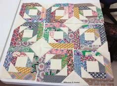 Pineapple Blossom, Loudon, TN  4/12/2014 Quiltville class pattern