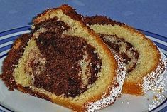 Marble cake with sour cream 13 – Marmorkuchen mit Sauerrahm 13 – Homemade Cake Recipes, Raw Food Recipes, Snack Recipes, Nutella, Sour Cream Cake, Maila, Cake Fillings, Marble Cake, French Toast Casserole