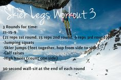 skier legs workout 3 crossfit style- The Ascent Blog