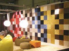 Papel de parede estilo tecido ! http://www.lojascasa.com.br