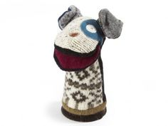 To DIY--puppets from old sweaters--Cate & Levi | Recycled Wool Puppets