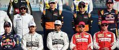 Formel 1 pilots for 2016 saison