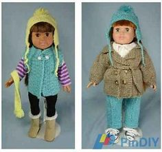 Frugal Knitting Haus - Outdoor-Ables Doll Clothes for 18inch dolls by Ruth Braatz-Knitting and Crochet Communication-Knitting Patterns-PinDIY -