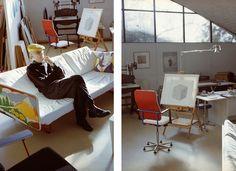 Yrjö Kukkapuro studio