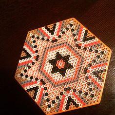 Mandala hama beads by  thecrafthaven