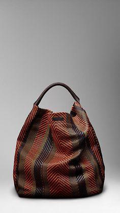 A Burberry bag.