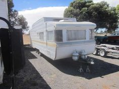 Brilliant Mardi Zeunert, 43, Of Clarence Gardens, Found Her 1958 Bondwood Caravan &quotFlossie&quot In A St Kilda Front Yard With A &quotfor Sale&quot Sign In One Of Her Porthole  For Inspiration, Vanhunters Are Encouraged To Hit The Adelaide Showgrounds On